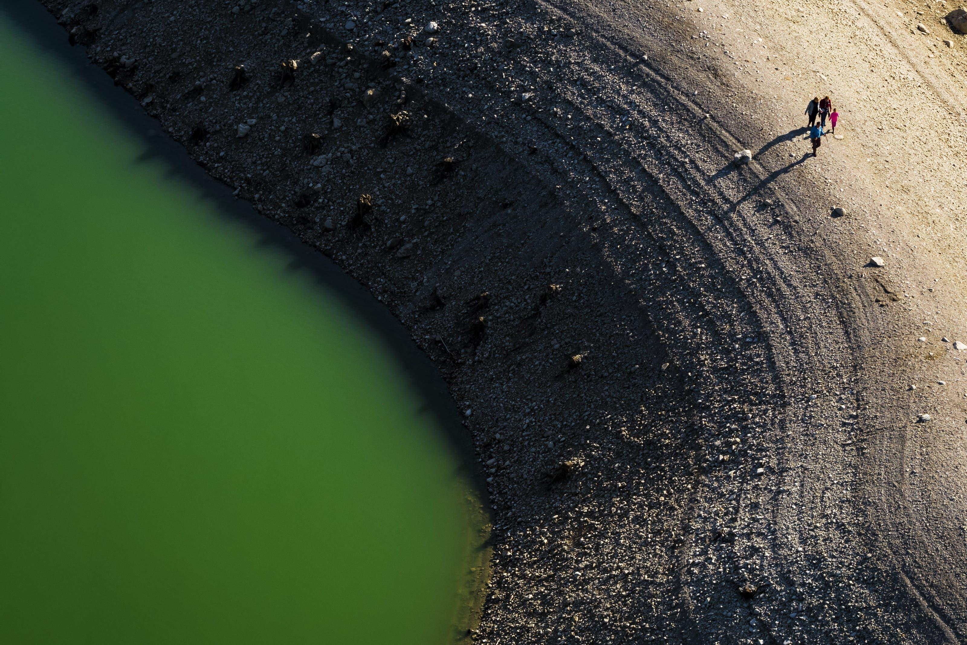 Deshalb wird der Wasserpegel um 15 bis 20 Meter abgesenkt. Im Bild: Pont-en-Ogoz bei Bulle.