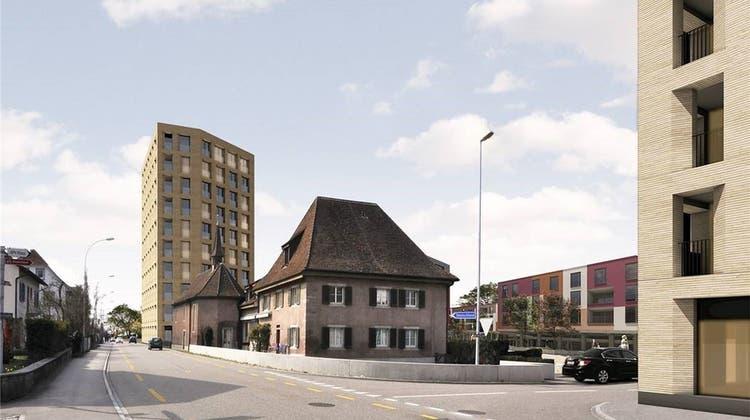 Ein Hochhaus als Eingangstor? – Städtebauliche Idee stösst auf Skepsis und Ablehnung