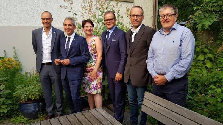 Amtsübergabe Rotary Club Aarau 2018/19