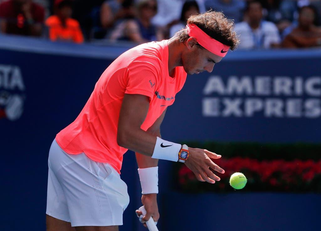 Leider abgesagt hat die Nummer 1: Rafael Nadal Der Spanier ist zurück auf dem Tennis-Thron. In Basel konnte er noch nie gewinnen, stand aber immerhin 2015 im Final.