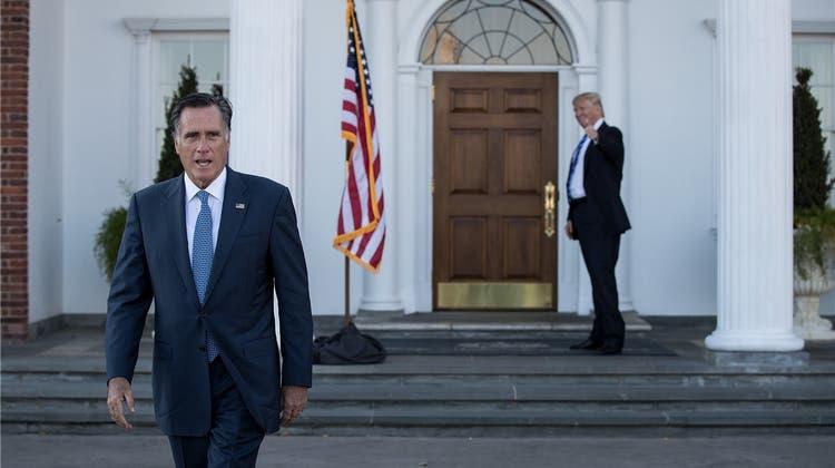 Romney will es nochmals wissen – und könnte für Trump zum Problem werden