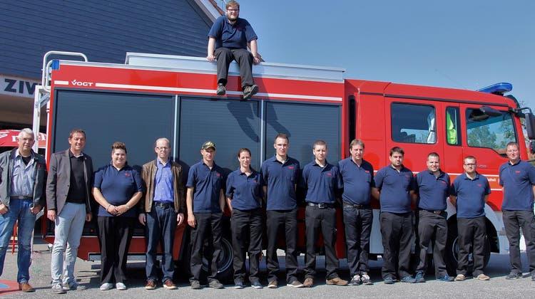 Fähigkeiten an der Feuerwehrübung unter Beweis gestellt