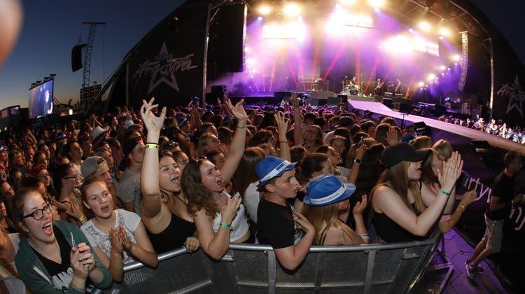 50'000 Besucher feierten auf dem Birrfeld die «#partyvomjahr»