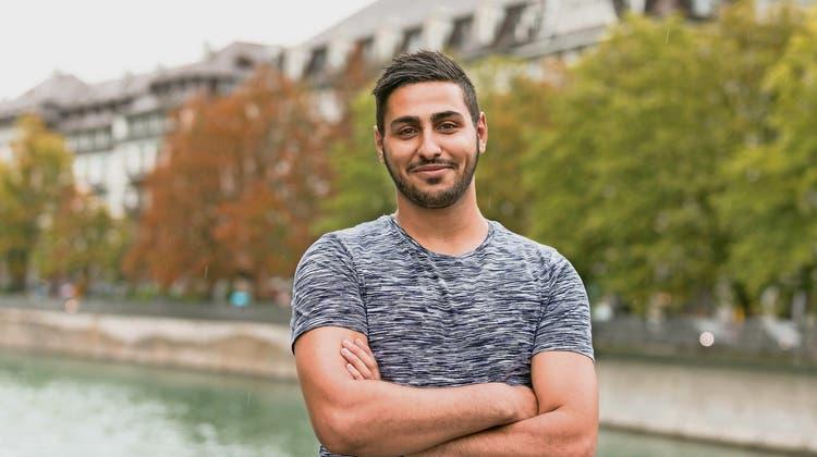 «Vorerst möchte ich meine Lehre machen»: Mohammad Nour Alabdullah plant seine Zukunft