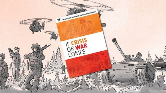 Harter Käse, Misstrauen und Widerstand: Wie Schweden die Bevölkerung auf Krieg vorbereitet