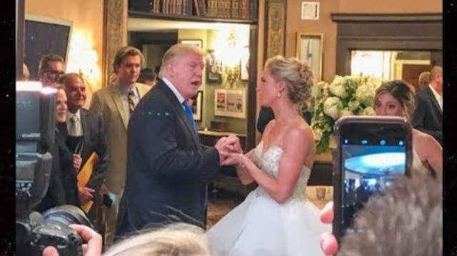 Stellen Sie sich vor, Sie feiern Hochzeit – und Trump schnappt sich Braut