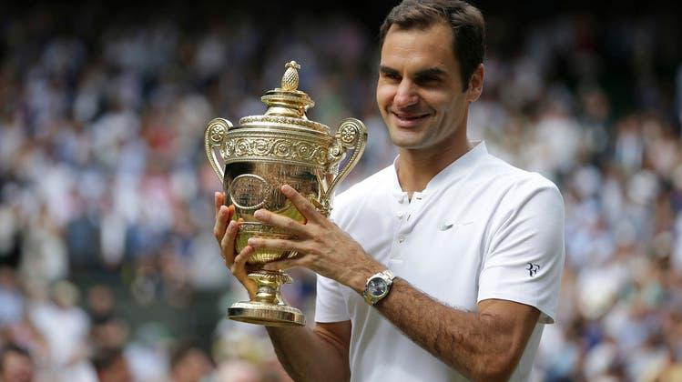 Verbotene Liebe: Nichts hat die Karriere Roger Federers (36) so definiert wie Rasen und Wimbledon