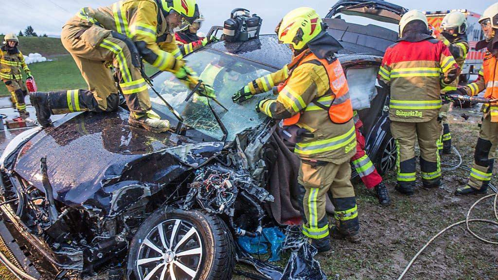 Unfall Menzingen (22.01.2018)