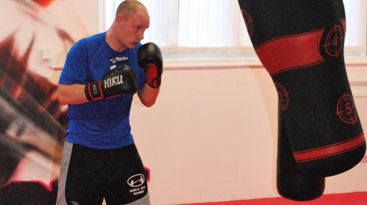 Der Fighter mit dem unglaublichen Punch: Fabian Hartmann am Freiluft-Boxmeeting