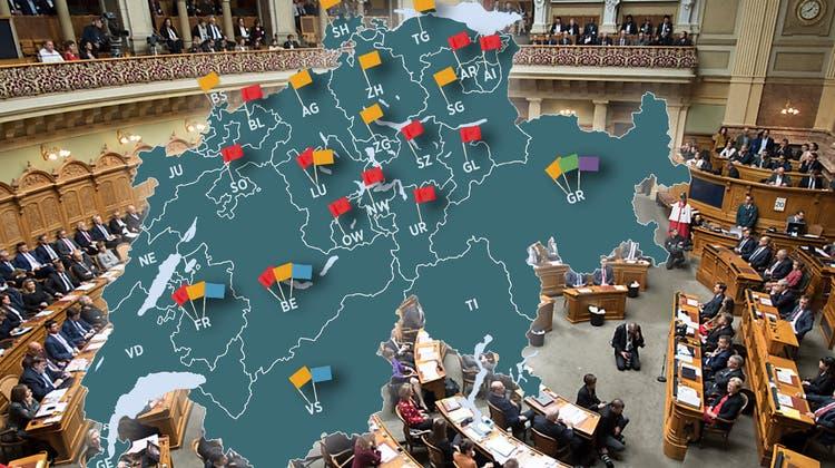 Der Dialekt-Graben: In Deutschschweizer Kantonsparlamenten wird häufiger Mundart gesprochen