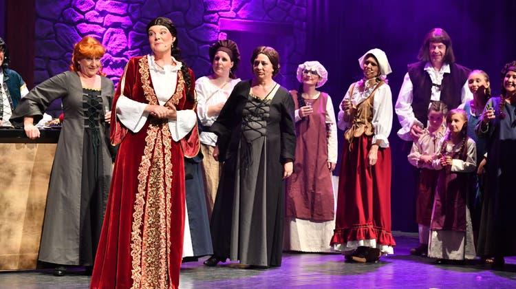 Musical über Liebe und Verrat auf der Froburg in Zeiten der edlen Ritter