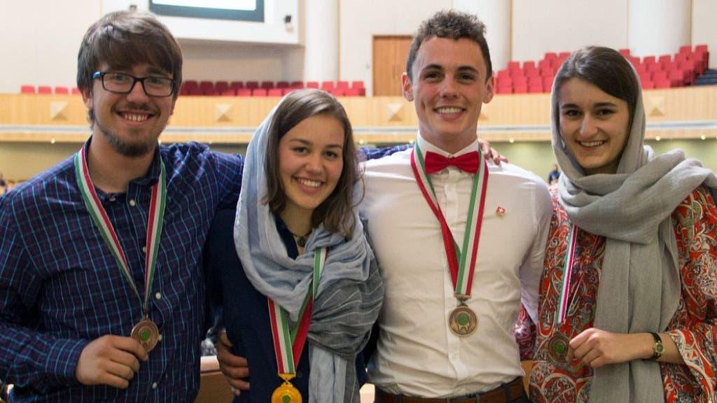 Aargauer Schüler räumen an Wissenschafts-Olympiade ab