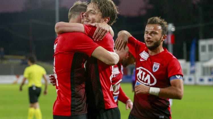 Torreiches Spiel gegen Schaffhausen: Die Highlights der Partie im Video