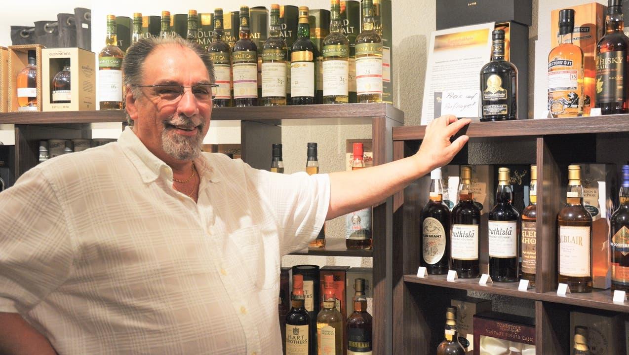 «Für einen guten Tropfen Whisky sind zwei Sachen essenziell: das Wasser und das Fass»