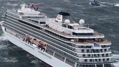 «Viking Sky»-Passagier: «Wie bei der Titanic, ich dachte, das ist das Ende» ++ Kreuzfahrtschiff im Hafen