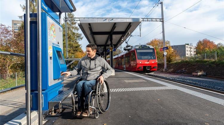 Triemli-Haltestelle ist neu behindertengerecht