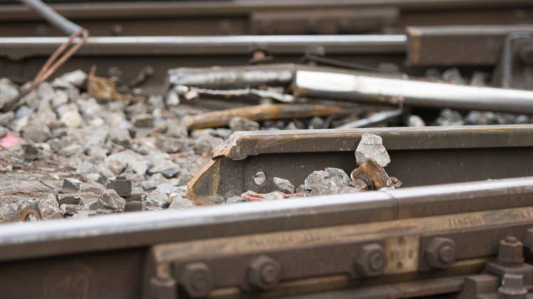 Entgleisung von Güterwagen in Eglisau wird offiziell untersucht