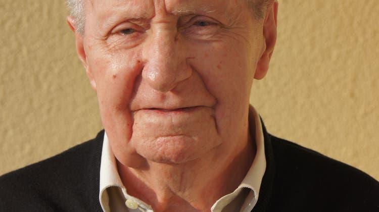 Kurt Steimen wird 90