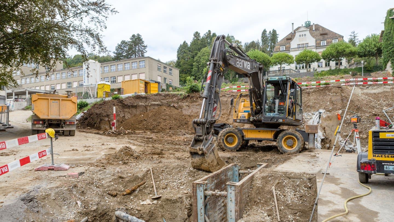 Diese Grossprojekte werden das Gesicht von Baden verändern