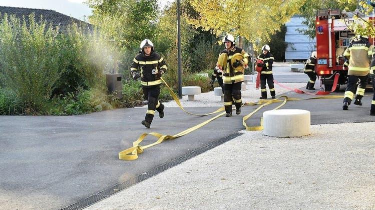 Feuerwehr hat Können eindrücklich unter Beweis gestellt