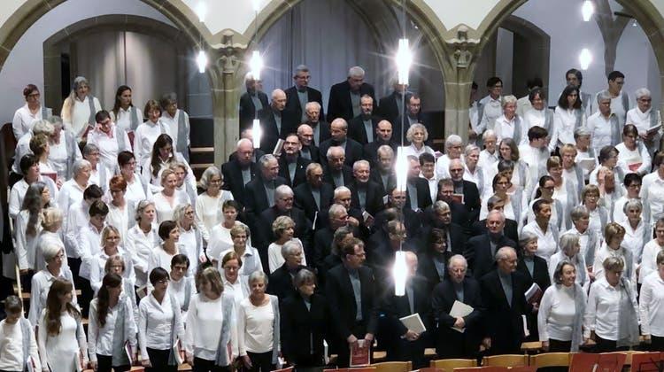 Nabucco in Aarau Chor, Orchester und Solistn mit überzeugender Dabietung!