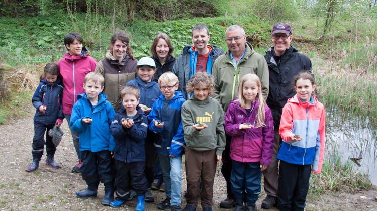 Familienausflug ins Naturlehrgebiet Buchwald in Ettiswil