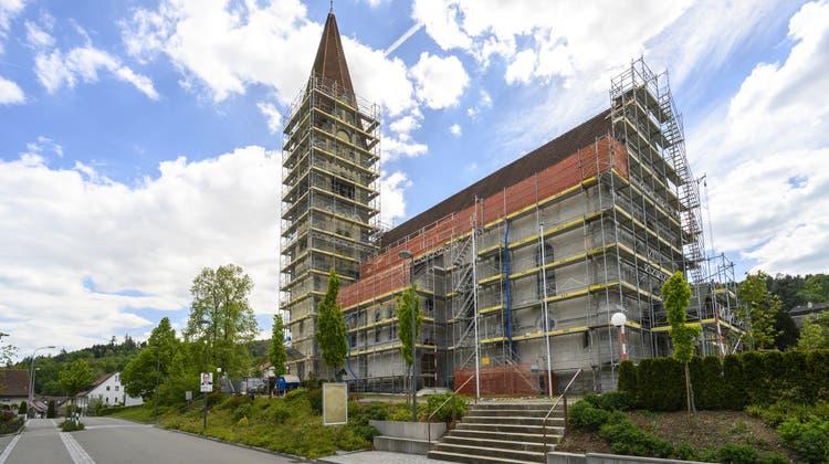 Bei der Sanierung der katholischen Pfarrkirche wurden Zeitzeugen gefunden