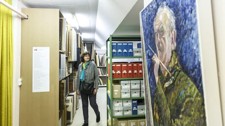 Im neuen Künstlerarchiv bleibt Vergangenes lebendig – ein Rundgang am Museumstag