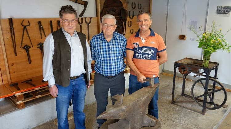 Das Museum zwischen Pflug und Korn beleuchtet das Schmiedehandwerk