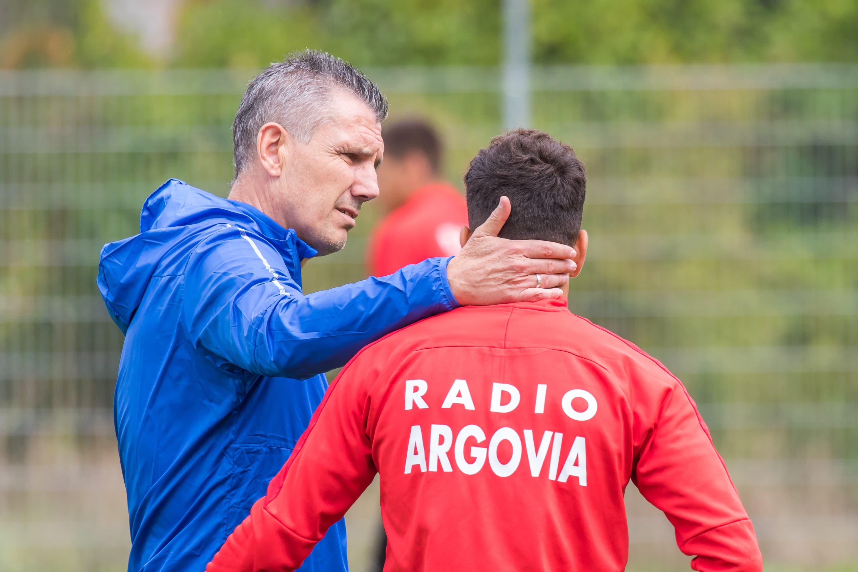 """Der Meisterheld von 1993 ist zurück: Petar """"das Stirnband"""" Aleksandrov ist neuer Stürmertrainer des FC Aarau"""