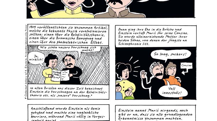 Genies und die starken Frauen – der neue Comic der Feministin Liv Strömquist