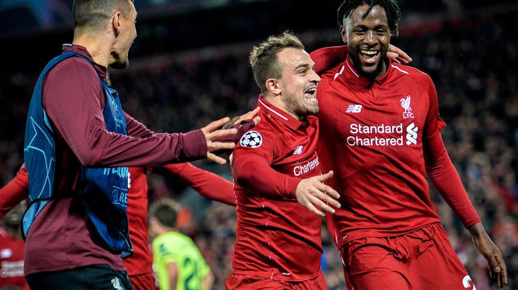 Shaqiri nach dem Liverpool-Spektakel: «So etwas habe ich noch nie erlebt!»