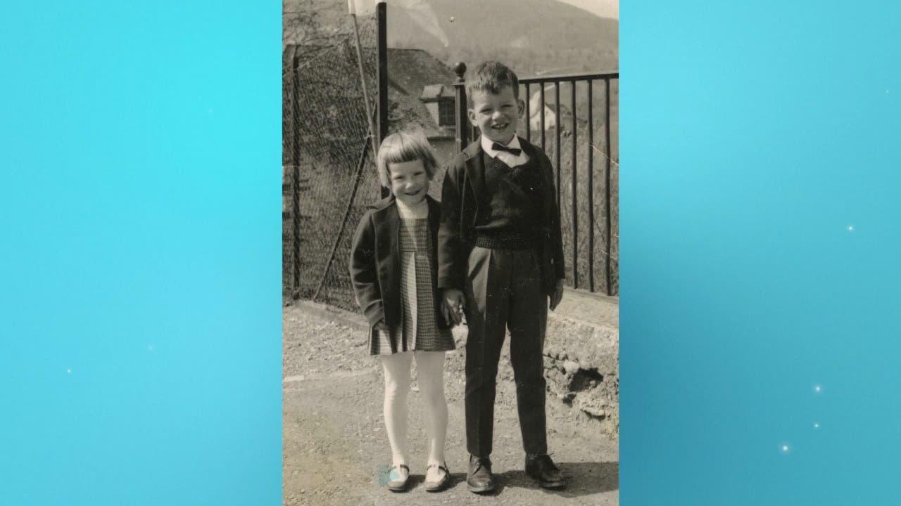 Aufgewachsen im Fricktal: Brigitte Obrist als Kind.