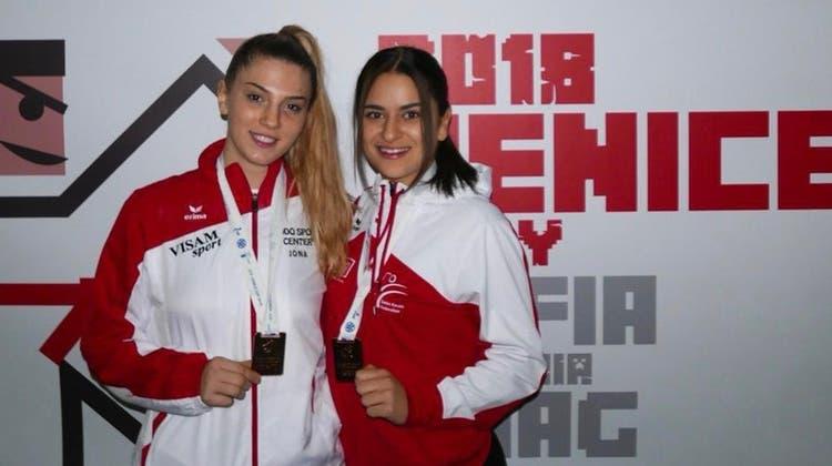 Bronzemedaillen für Mia Kadoic und Laura Sama