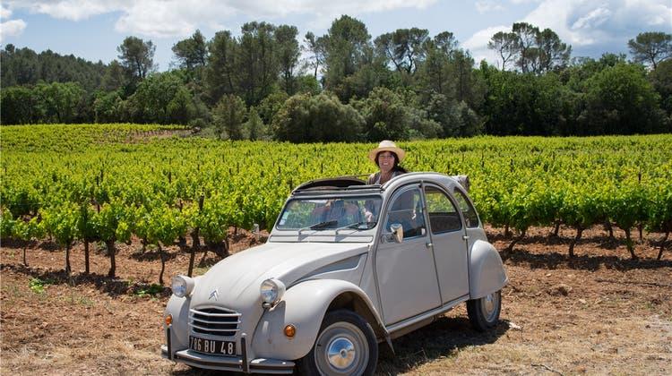 Mit einer ruckelnden Ente durch die Provence