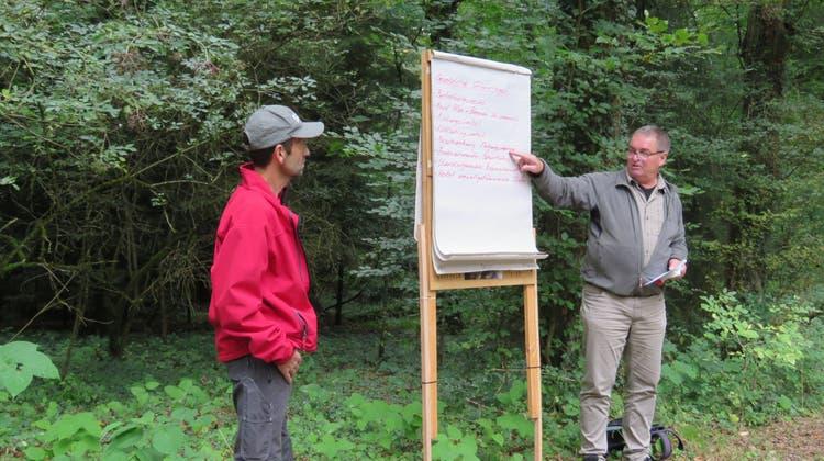 Traditioneller Waldgang der Bürgergemeinde Derendingen