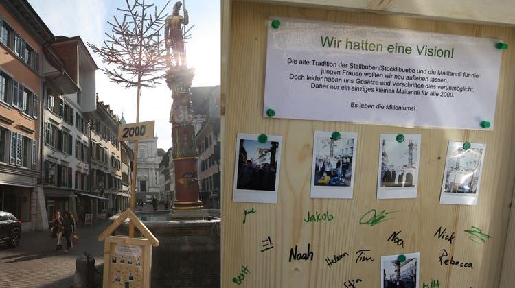 Maitannli am Solothurner Märetplatz? Lieber nicht