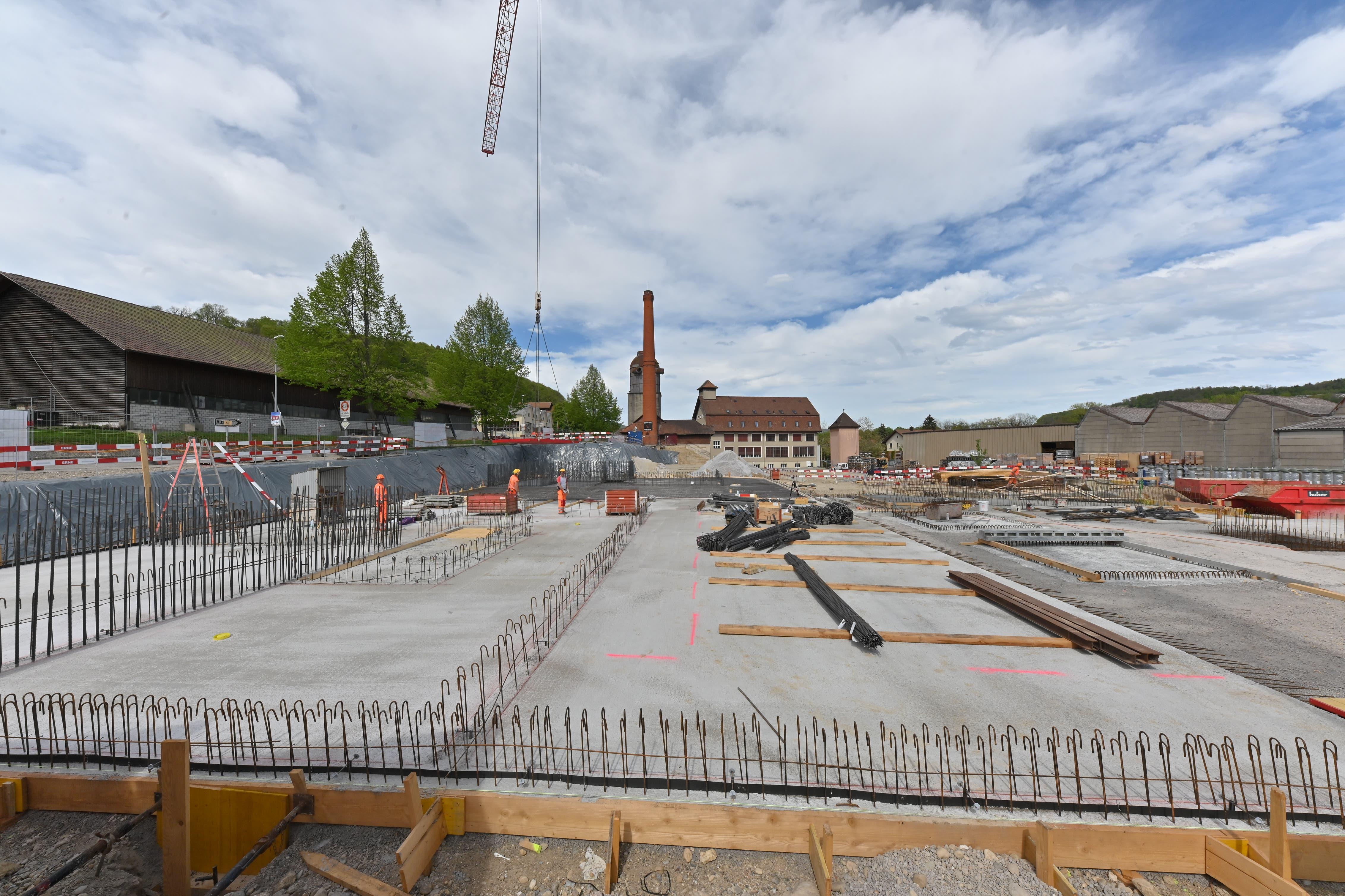 Die Überbauung «Alte Leistenfabrik» wird von W. Thommen AG aus Olten gestaltet.