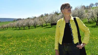 «Ja, da geht heute noch was» – unterwegs mit Regine Leutwyler zwischen Kirschblüten und Bienen