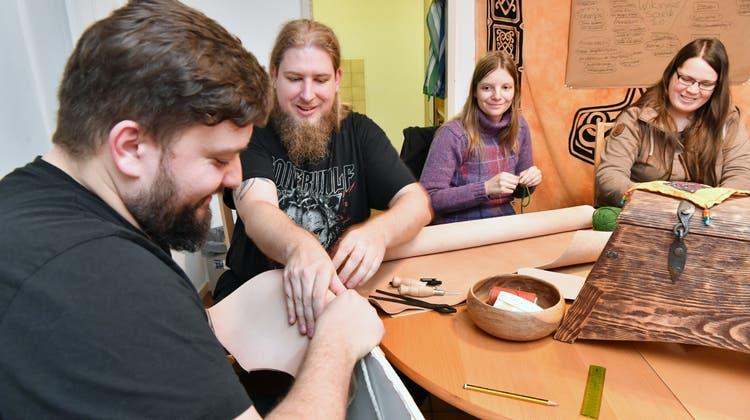 Winterpause für die «Viking Horde»: Basteln ist jetzt angesagt