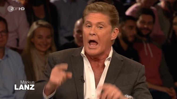 Emotionale Klima-Debatte im ZDF – Hasselhoff platzt der Kragen wegen Christian Lindner