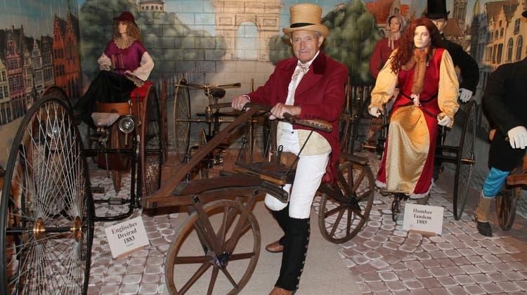 Das Ziel vom Museum: «Den Besuchern die Geschichte des Velos näherbringen»