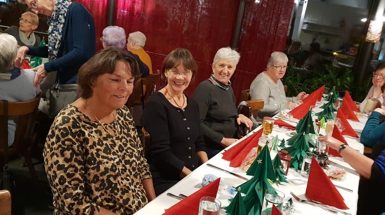 Weihnachtsfeier der Frauenturngruppe Derendingen