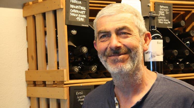 Der Weinhändler ist am Landhausquai seit 20 Jahren eine Institution