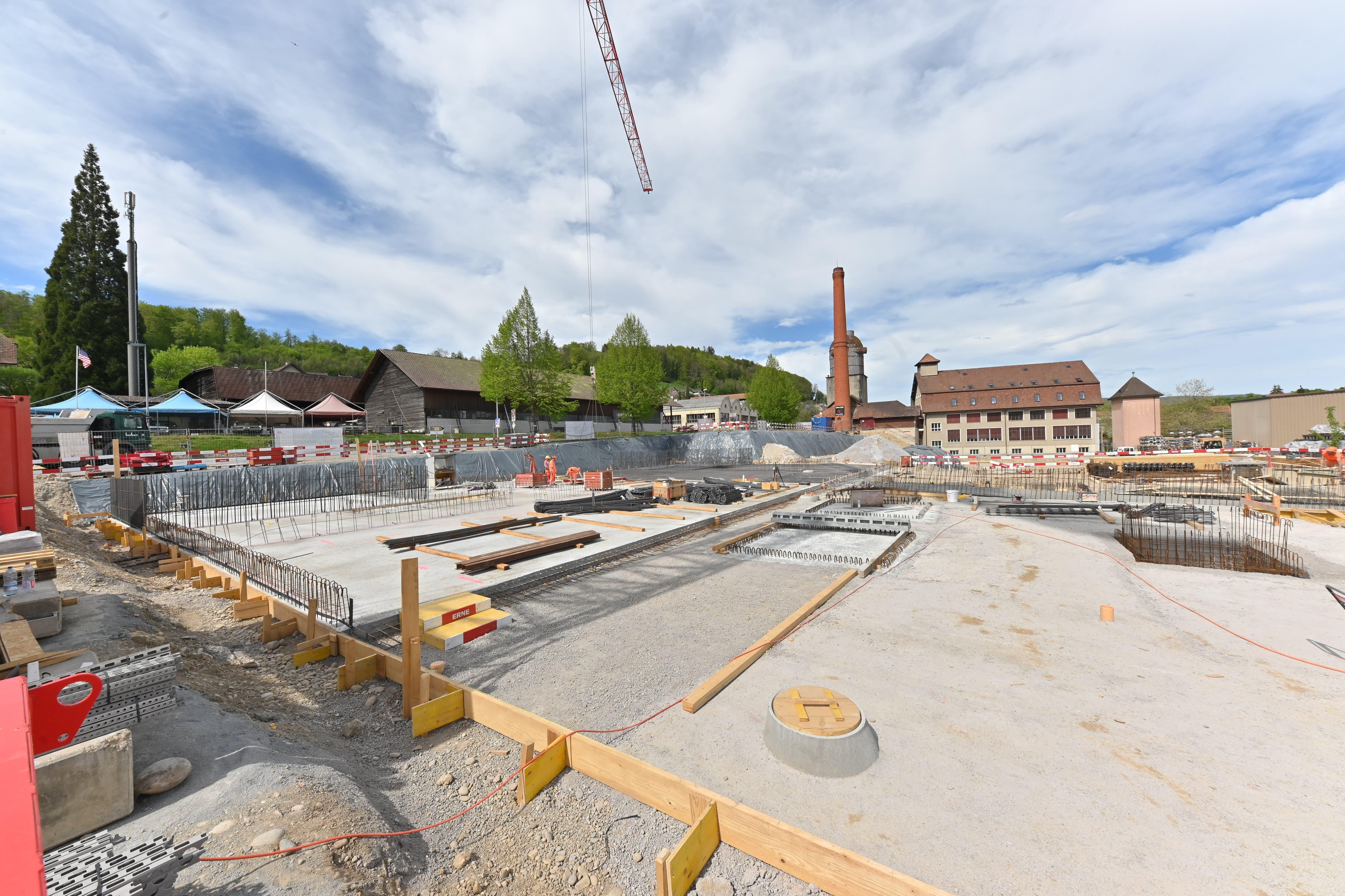 """Überbauung """"Alte Leistenfabrik"""" in Niedergösgen, April 2019"""