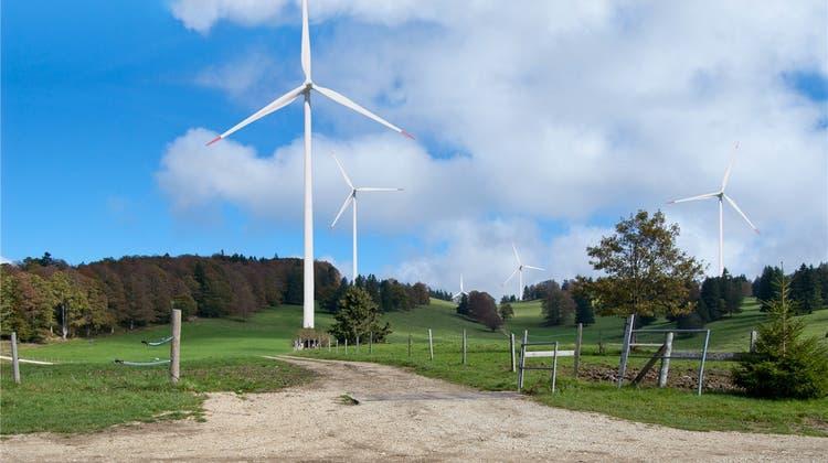 Neben dem geplanten Projekt auf dem Grenchenberg soll ein weiterer Windpark entstehen