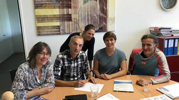 Synchronschwimmerinnen mit an Bord: Die Sports Academy Solothurn hat einen neuen Partner