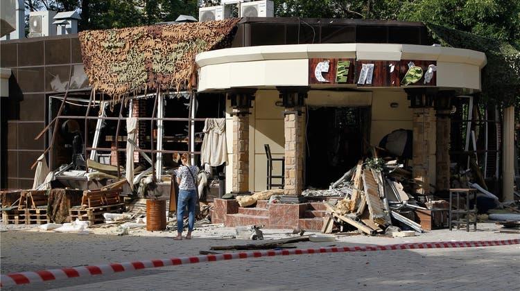 Ein Mord destabilisiert den Donbass