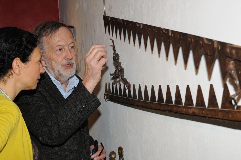 Künstlergespräche mit Urs Joss Galerie Brigitta Leupin