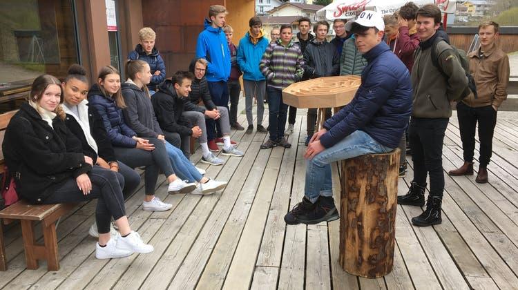 Wirtschaftswoche der Kantonsschule in Sörenberg